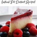 The great thing about Weight Watchers is that you can still eat all of the foods you love. Moderation is key and the Freestyle SmartPoints system helps teach us how make smart choices and balance them with our splurges. Thanks to the Instant Pot, cooking (and baking) healthy recipes is easier than ever. Here are some delicious Weight Watchers Instant Pot dessert recipes that have the points calculated for you!