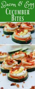 One of the best ways to eat better is to plan ahead. Luckily, these Bacon and Egg Cucumber Bites are easy to make for a big crowd or just one. They are packed full of protein and flavor. The best part is there is no cooking involved and you can prepare and serve them in less than 10 minutes.