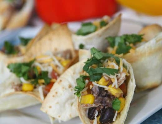 These Weight Watchers Chicken Taco Cups are simple to make.   My kids even loved these!