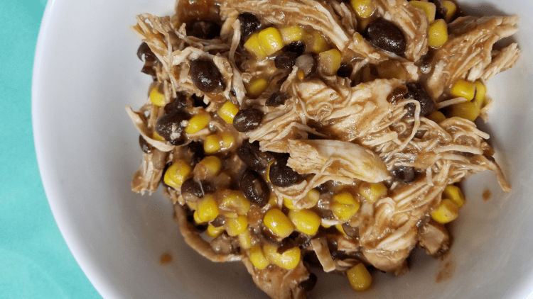 Zero Point Fiesta Chicken is a perfect Weight Watchers FreeStyle recipe your family will love to see you make! Instant Pot friendly and ready in under 30 minutes!