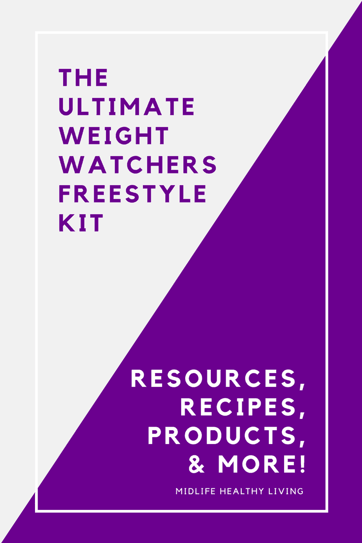 Understanding the new Weight Watchers Freestyle system isn't difficult. It's very much like the Smart Points program we all know and love. With the new additions and changes I thought it might be helpful to pull together all of the great Weight Watchers Freestyle info I have shared here at Midlife Healthy Living.