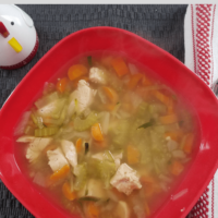 Weight Watchers Chicken Zoodle Soup