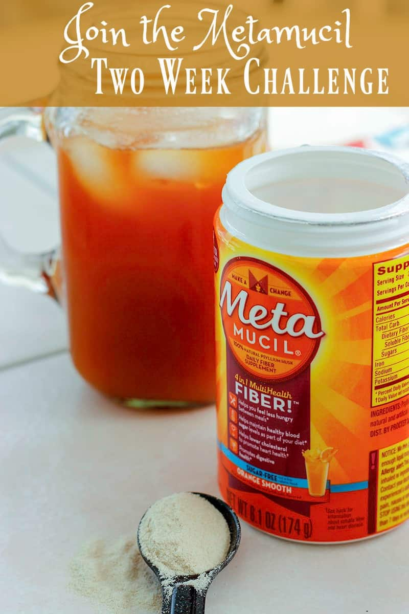 If you are like most americans you could use an increase in your fiber intake. Join the Metamucil Two-Week Challenge and see the difference it can make.