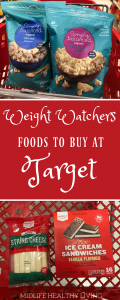 My printable shopping lists have been a big hit so we've put together another one for you! Check out this Weight Watchers foods to buy from Target. This list is broken down by the popular brands at Target and categorized by Freestyle points in each serving.