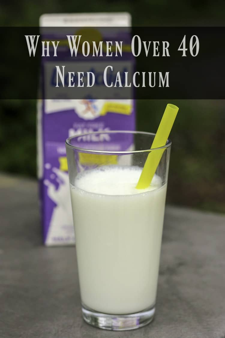 Women over 40 need calcium to prevent a nutritional deficiency. Hopefully, you can use some of these tips to make sure to replenish your body with the calcium it needs each day. #JuneDairyMonth #JuneDairyMonthBlog #ad