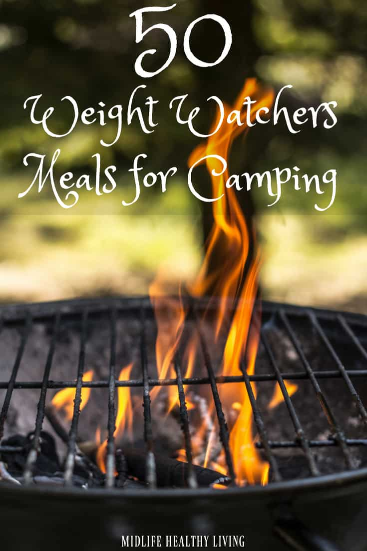 We enjoy camping and traveling in general. The biggest hurdle while camping is the food! Today I'm sharing some of my favorite Weight Watchers meals for camping. Weight Watchers Camping Meal   Weight Watchers Freestyle Meals   Camping Recipes #weightwatchers #recipes #freestylerecipes #healthycampingmeals