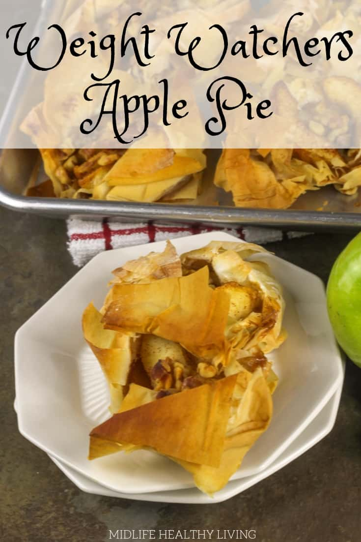 What's more delicious than a warm apple pie? A warm Weight Watchers apple pie, of course! A healthy dessert recipe the whole family will love!