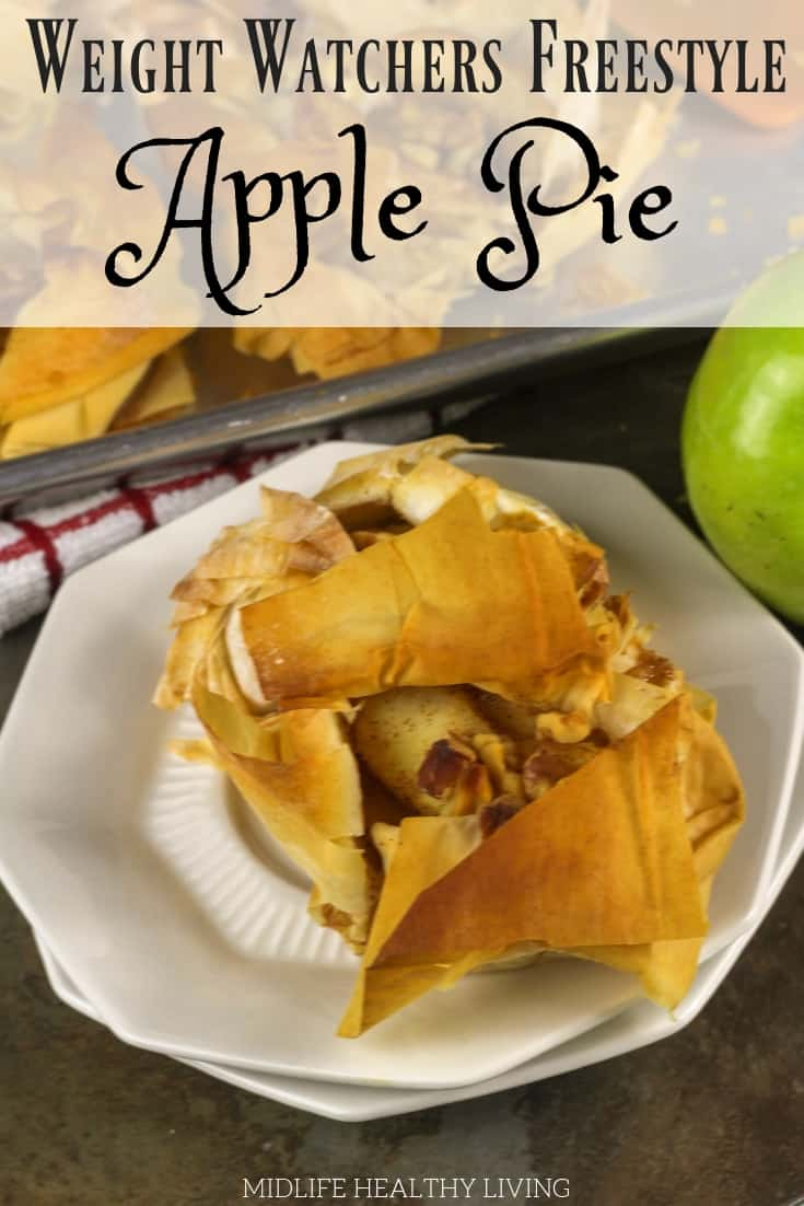 What's more delicious than a warm apple pie? A warm Weight Watchers apple pie, of course! These individual apple pies are healthy, easy to make, and perfect for your family gatherings and holidays.