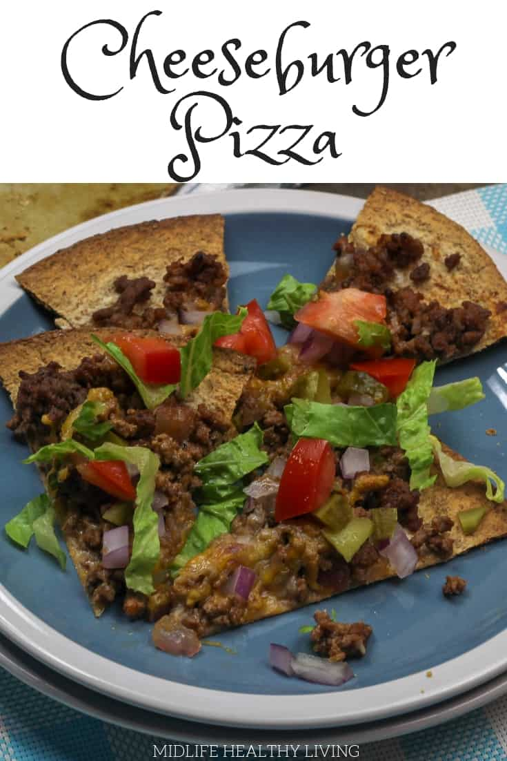 If you are a pizza lover like me, finding healthier alternatives while on the Weight Watchers program is a must! This Weight Watchers cheeseburger pizza recipe is great!
