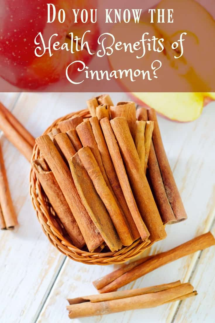 What are the health benefits of cinnamon? Cinnamon isn't just for baking and putting a delectable scent in the air, it's packed full of health benefits. #healthyliving #cinnamon #healthbenefits