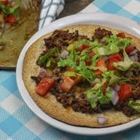 Weight Watchers Cheeseburger Pizza