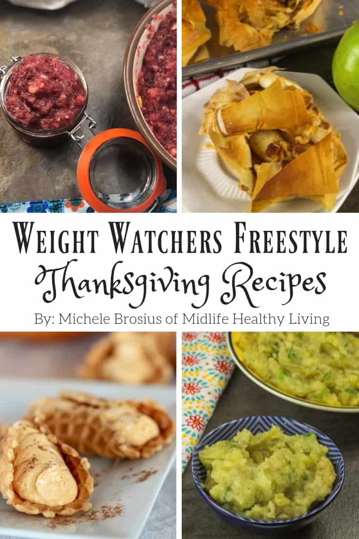 Now that the holidays are here, I'm planning ahead to avoid ruining the progress I've made this year with Weight Watchers and a healthy lifestyle. If you are looking for healthy holiday recipes, you've come to the  right place. Today I'm sharing with you my Weight Watchers Thanksgiving recipes. This is an entire Thanksgiving meal that is all Weight Watchers Freestyle friendly!