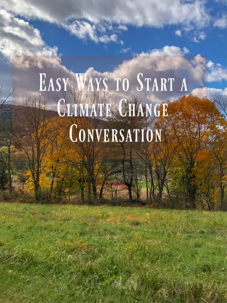 Did you know that 97% of scientists agree that climate change is happening and caused by human activity?  We need to be sharing this information so we can all work together to make a difference. Thankfully, starting a climate change conversation is easier than you think.