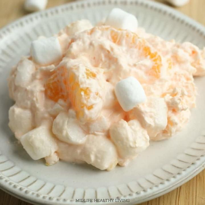 Orange Fluff Dessert   Weight Watchers Fluff