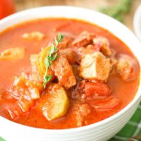 Weight Watchers Chicken Sausage Stew