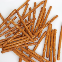 pretzel sticks.