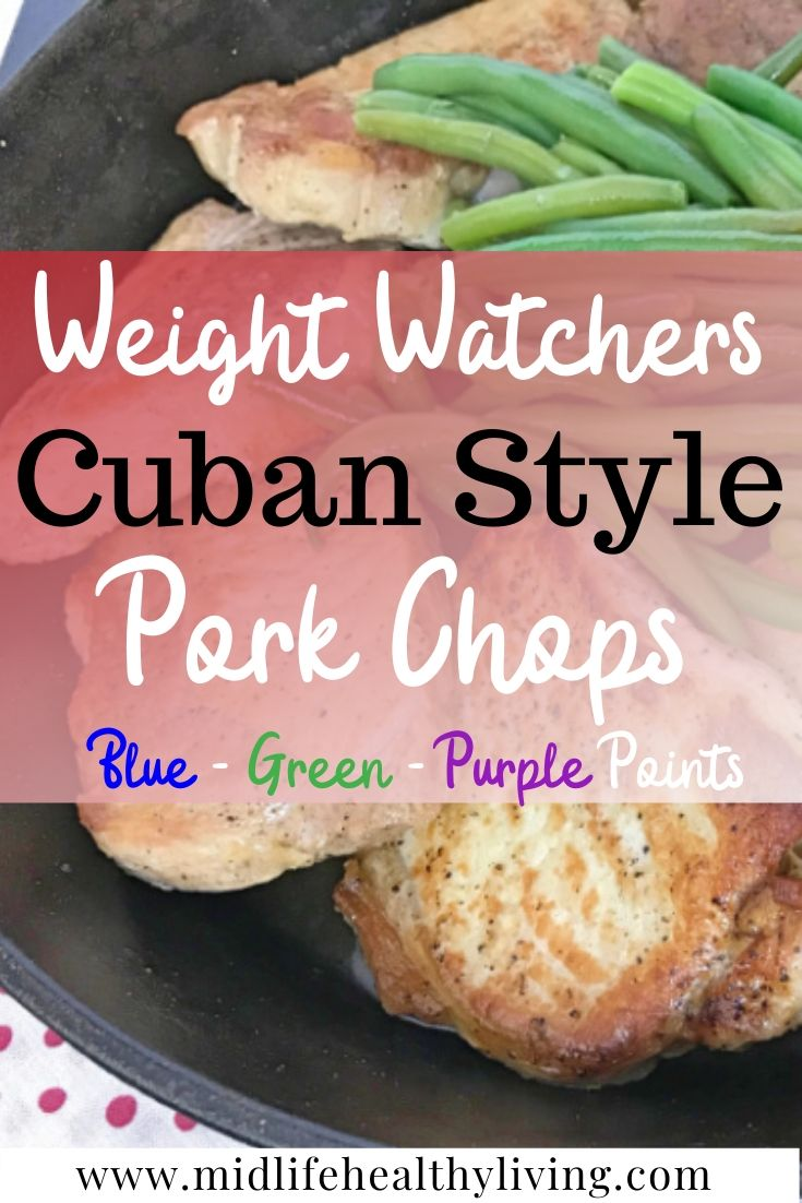 When was the last time you enjoyed a good hearty meal that included Weight Watchers Pork Chops? Pork is definitely the other white meat and can be a part of any healthy eating plan. Using loin chops is my favorite way to enjoy a low point dinner.