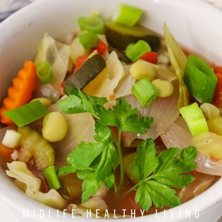 Homemade Vegetable Soup   Weight Watchers Vegetable Soup
