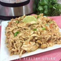 Instant Pot Mexican Shredded Chicken Recipe