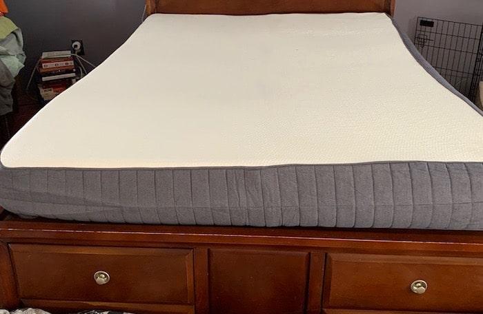 Mattress set up, sweet night gel memory foam mattress delivers in a box!