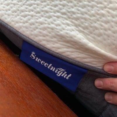 Tag on the sweetnight mattress!