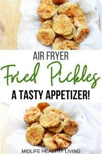 Another pin for air fryer pickles recipe for Weight Watchers