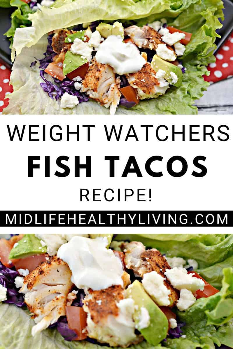 A pin for the delicious best fish tacos recipe.