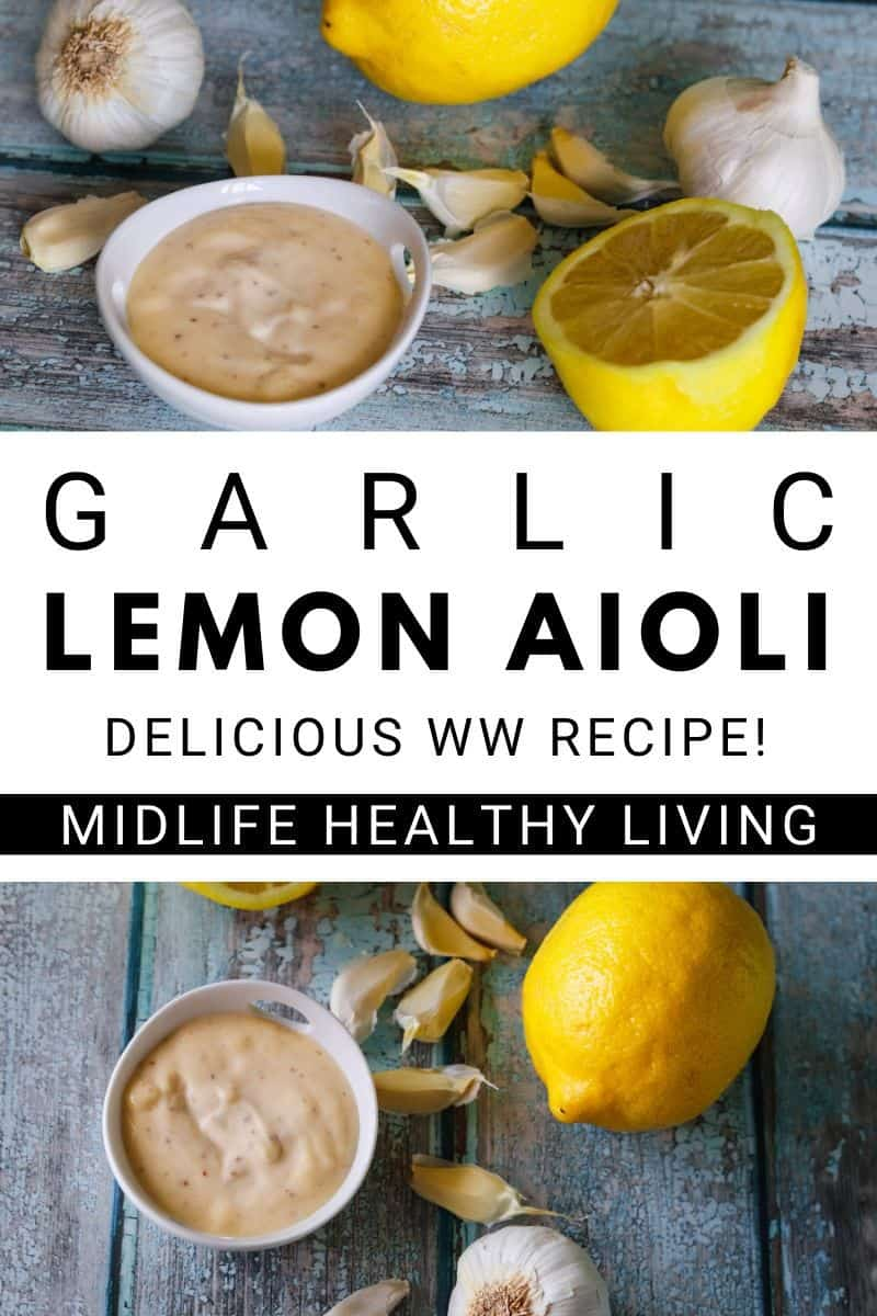 Homemade Garlic Aioli Recipe Lemon Garlic Aioli