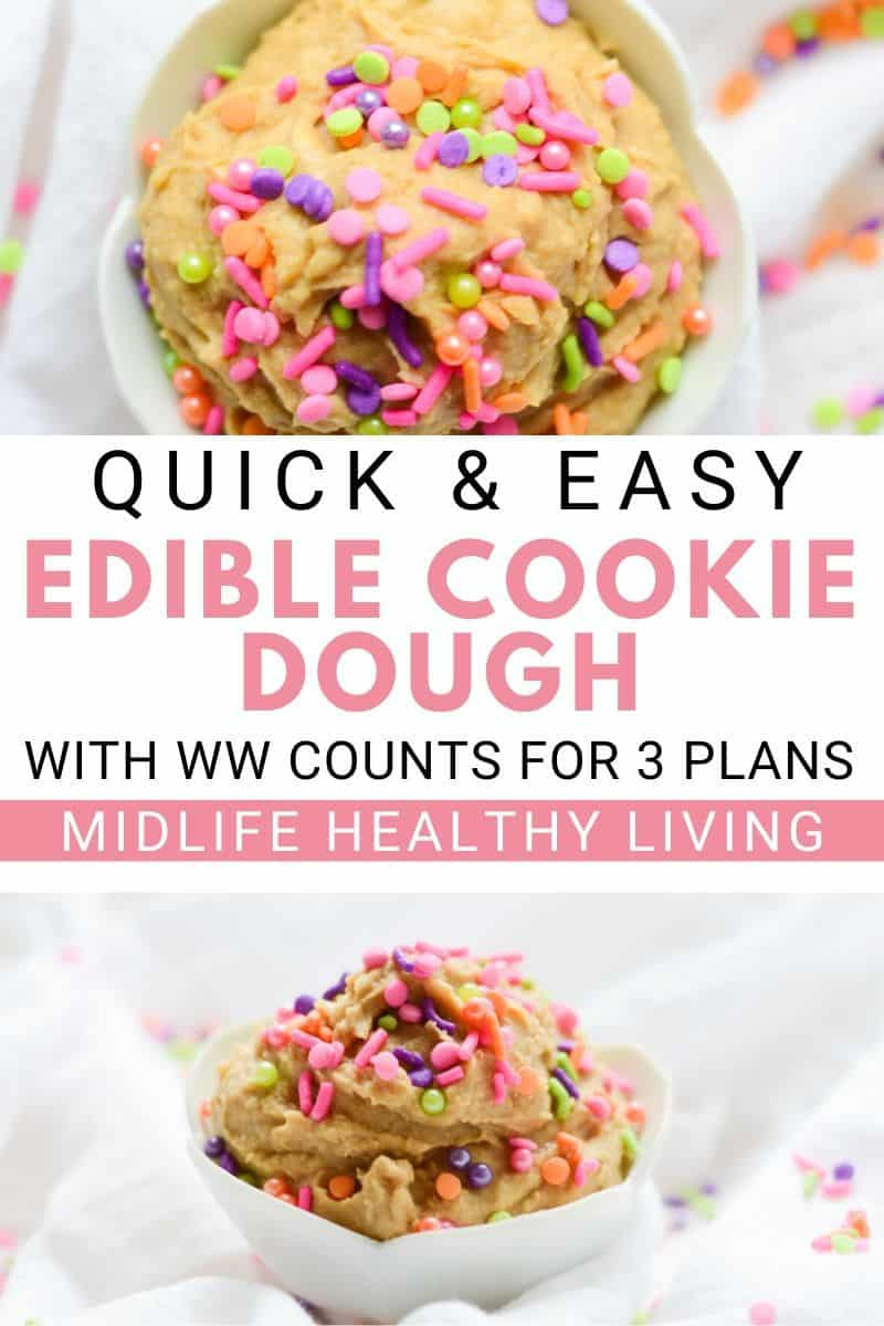 Another pin for this delicious and adorable cookie dough recipe.