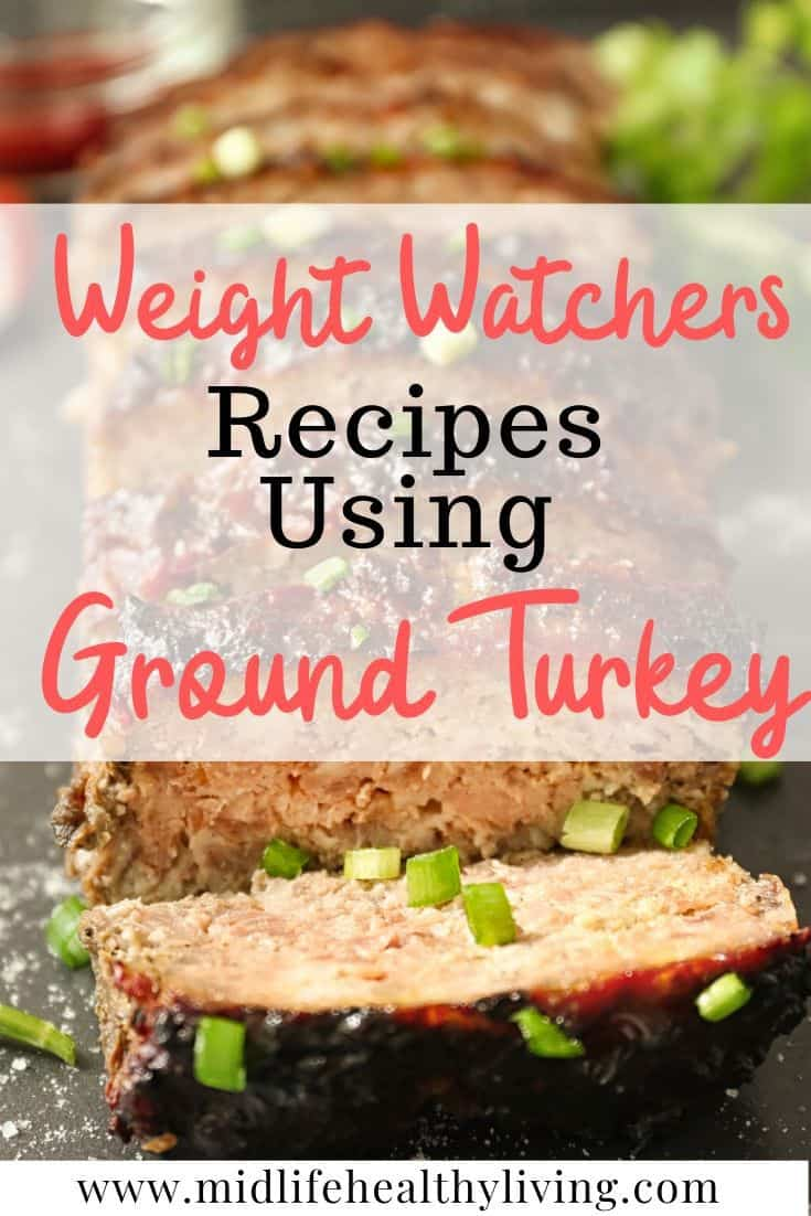 Another pin showing the WW recipes using ground turkey.
