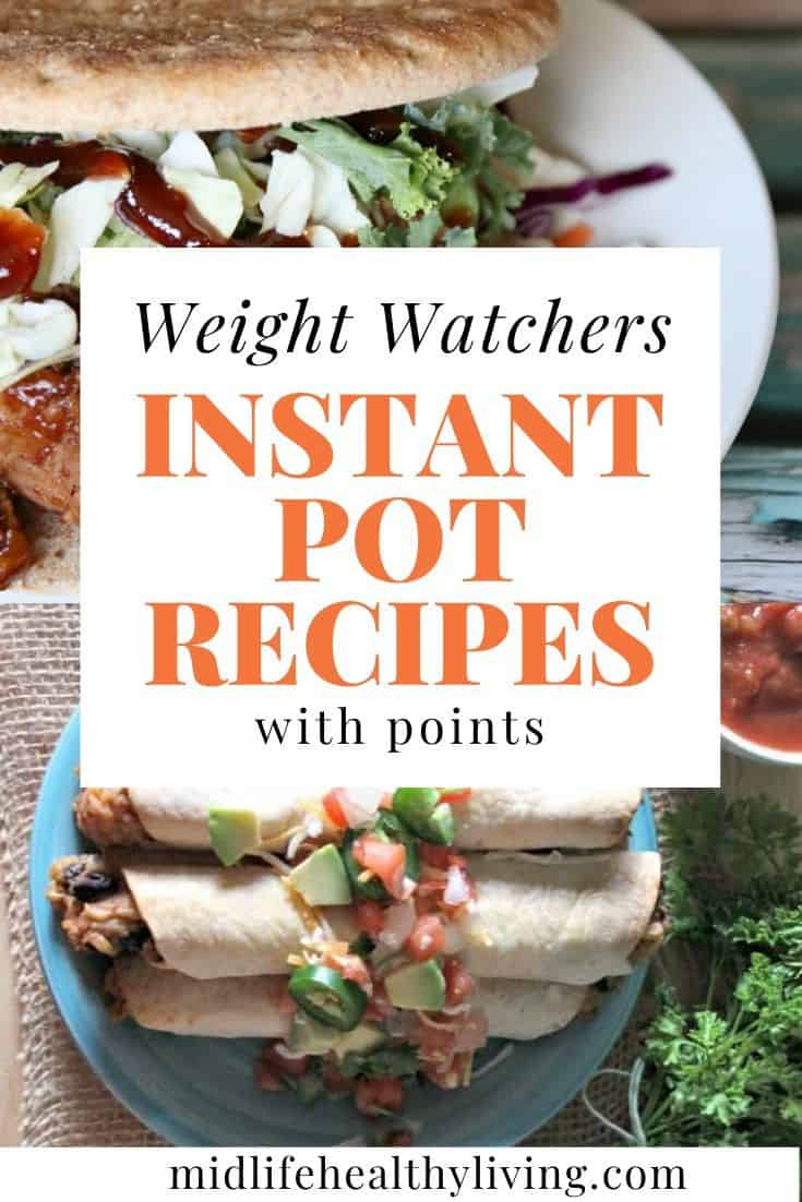 Pin for Weight Watchers Instant Pot recipes