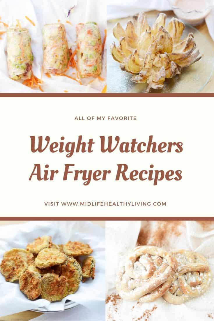 Air fryer weight watchers recipes pin