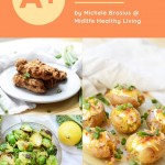 Another pin showing the Weight Watchers air fryer recipes and the title of the landing page at the top