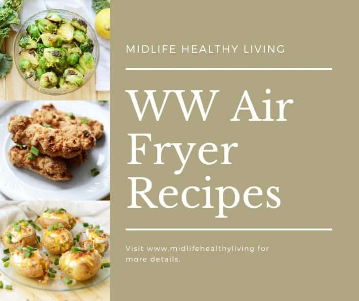 A facebook page sized image showing the title of the page and some recipes on the side.