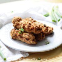 Air Fryer Chicken Tenders | Healthy Chicken Tenders Recipe