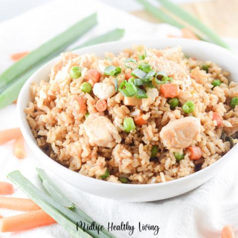 Chicken Fried Rice Recipe | WW Fried Rice