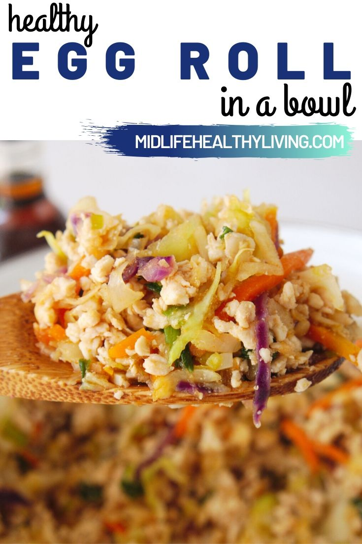 Another pin for this delicious egg roll in a bowl recipe.