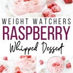 Another pin which shows the delicious dessert recipe with Raspberries all whipped up and ready to eat.