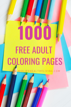 1000 Free Printable Adult Coloring Pages