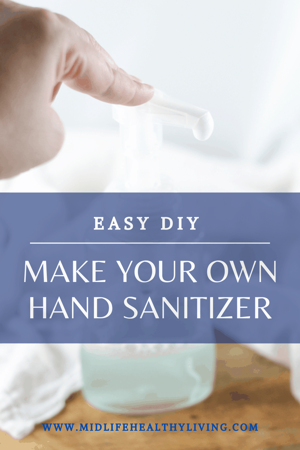 There are times that you may have a need to make your own homemade hand sanitizer. If the supply is low because of high demand or you just want to make your own version of hand sanitizer, I have an easy DIY for you.