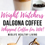 A pin showing the finished weight watchers whipped coffee!