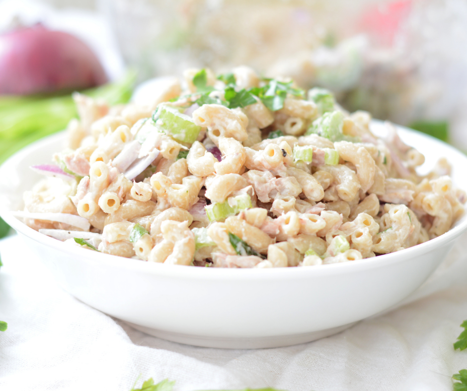 weight watchers tuna pasta salad