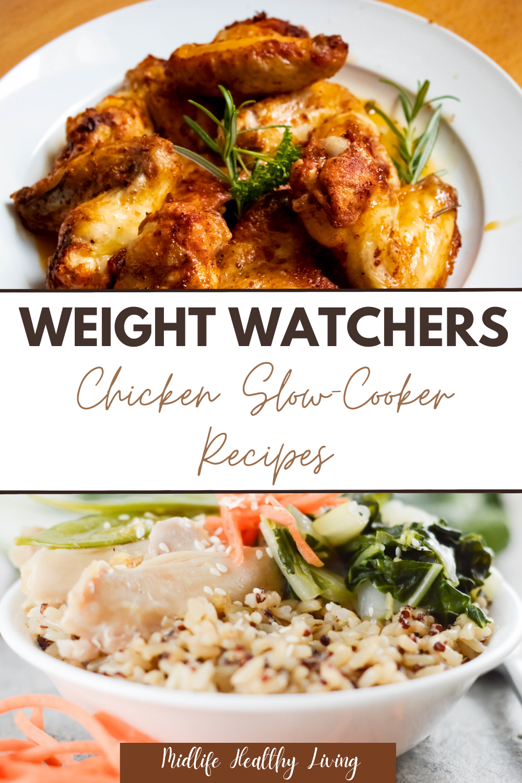 weight watchers chicken slow cooker recipes