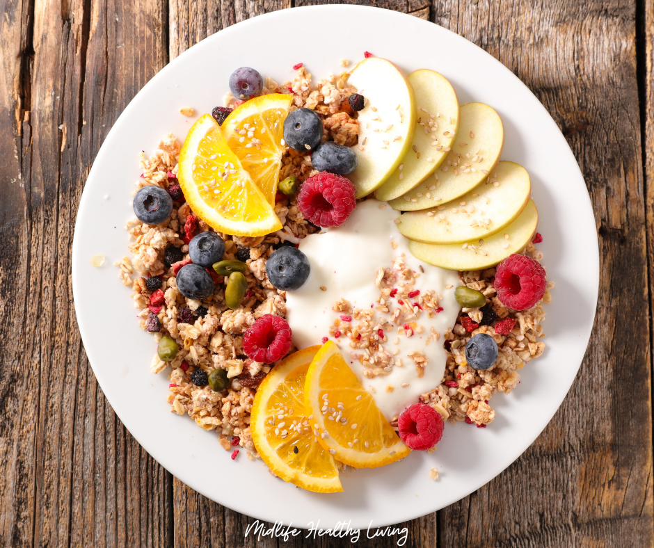 Featured image showing a breakfast idea for Weight Watchers.