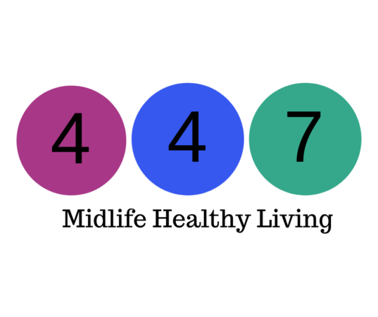 weight watchers points bubbles showing 4 on purple and blue and 7 on green.